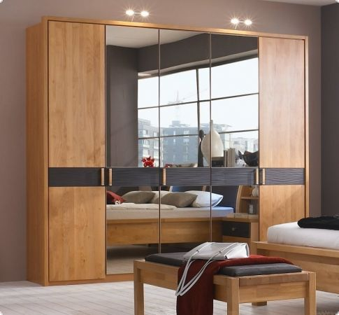 massivholz kleiderschrank erle massiv mocca rhoda1189 schlafzimmer pinterest. Black Bedroom Furniture Sets. Home Design Ideas