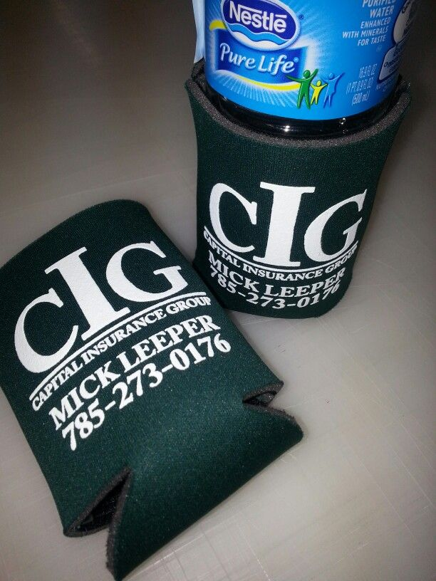 We just completed Koozies for Capital Insurance Group. We would be happy to work with you on your next sign, vehicle graphics, printing or promotional item project. Call us for a free estimate: (785)408-5160 Visit us at 5160 S Topeka Blvd. Suite C Topeka, KS 66609 - Shop our website at http;//www.knoxwrapps.com or view completed jobs at: http://www.facebook.com/knoxsigns Email:Shannon@KnoxWrapps.com