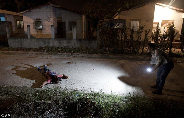 The most dangerous place on earth? San Pedro Sula in Honduras - where three people are murdered EVERY DAY - tops list of the world's most violent cities #sanpedrosula