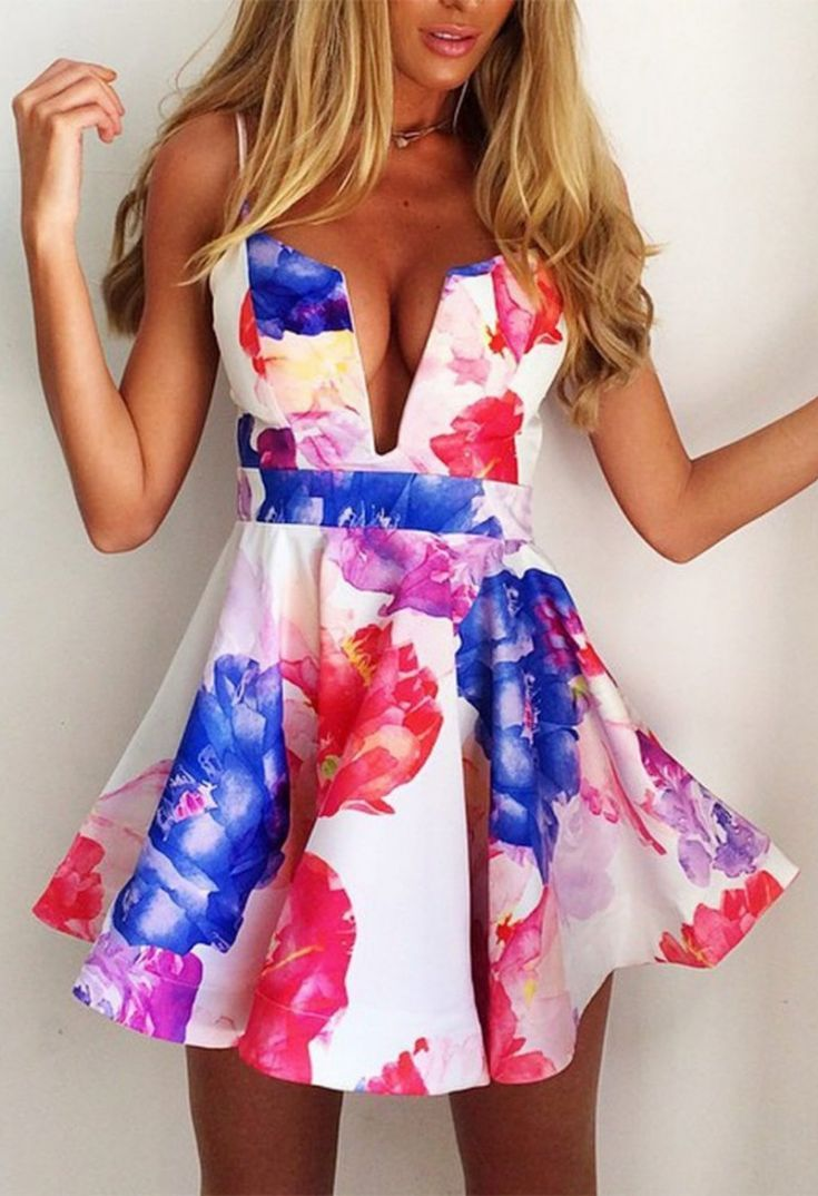 floral summer dress my perfect beach look