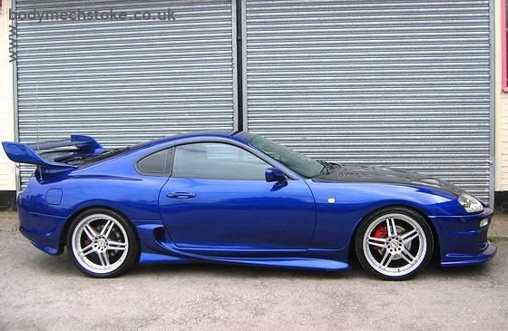 Customized Toyota Supra...droooool
