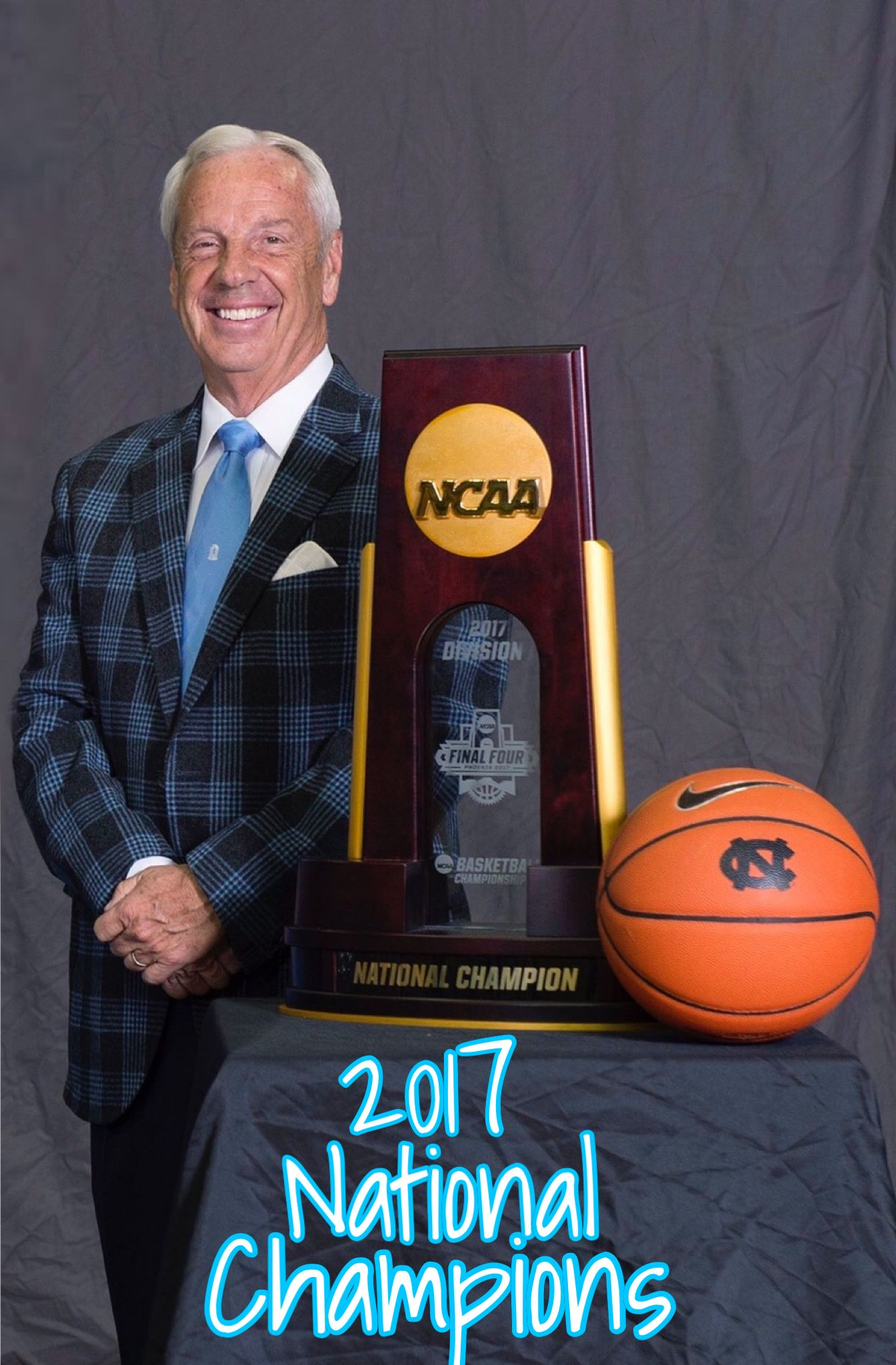 Coach roy williams 2017 national champion north