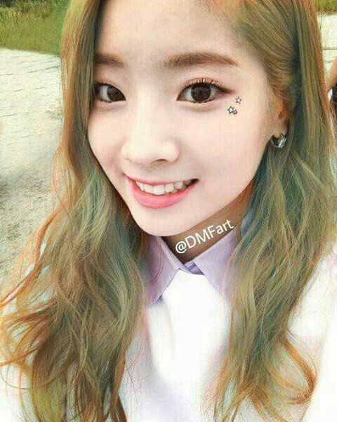 Dahyun Twice Hair Color Edit