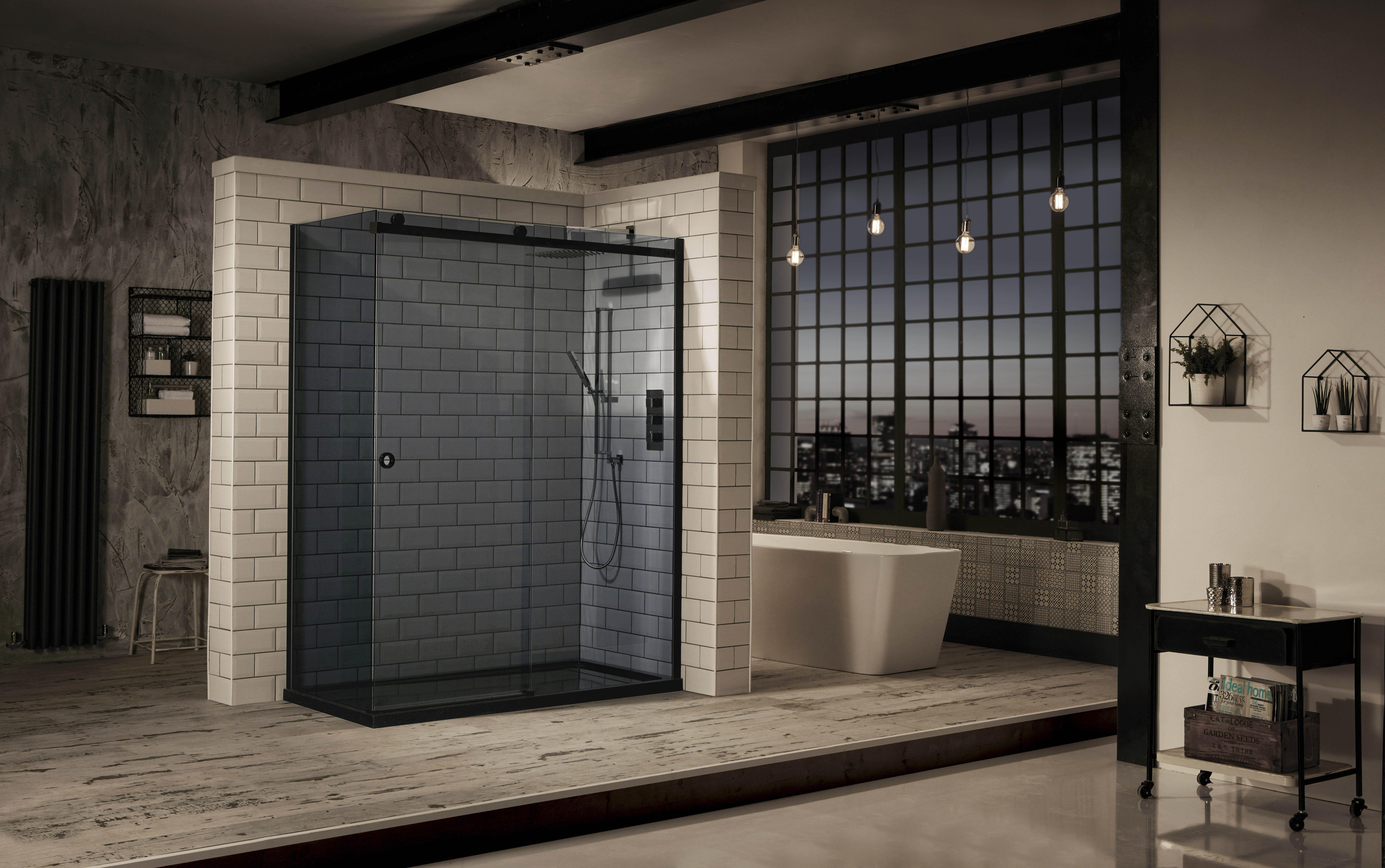 Aquaglass+ Sphere Tinted Slider - Frontline Bathrooms - http ...