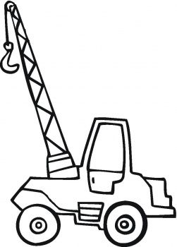 truck coloring pagesjpg 251350 cranes and wrecking balls pinterest google images