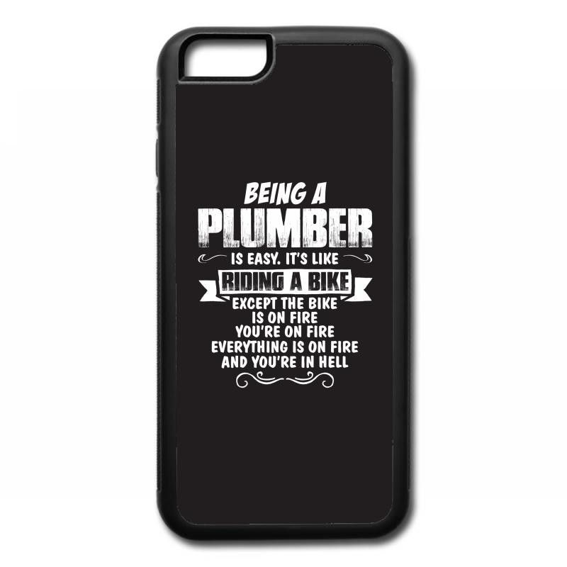being a plumber iPhone 6/6s Rubber Case | Just Plumbers | Pinterest ...