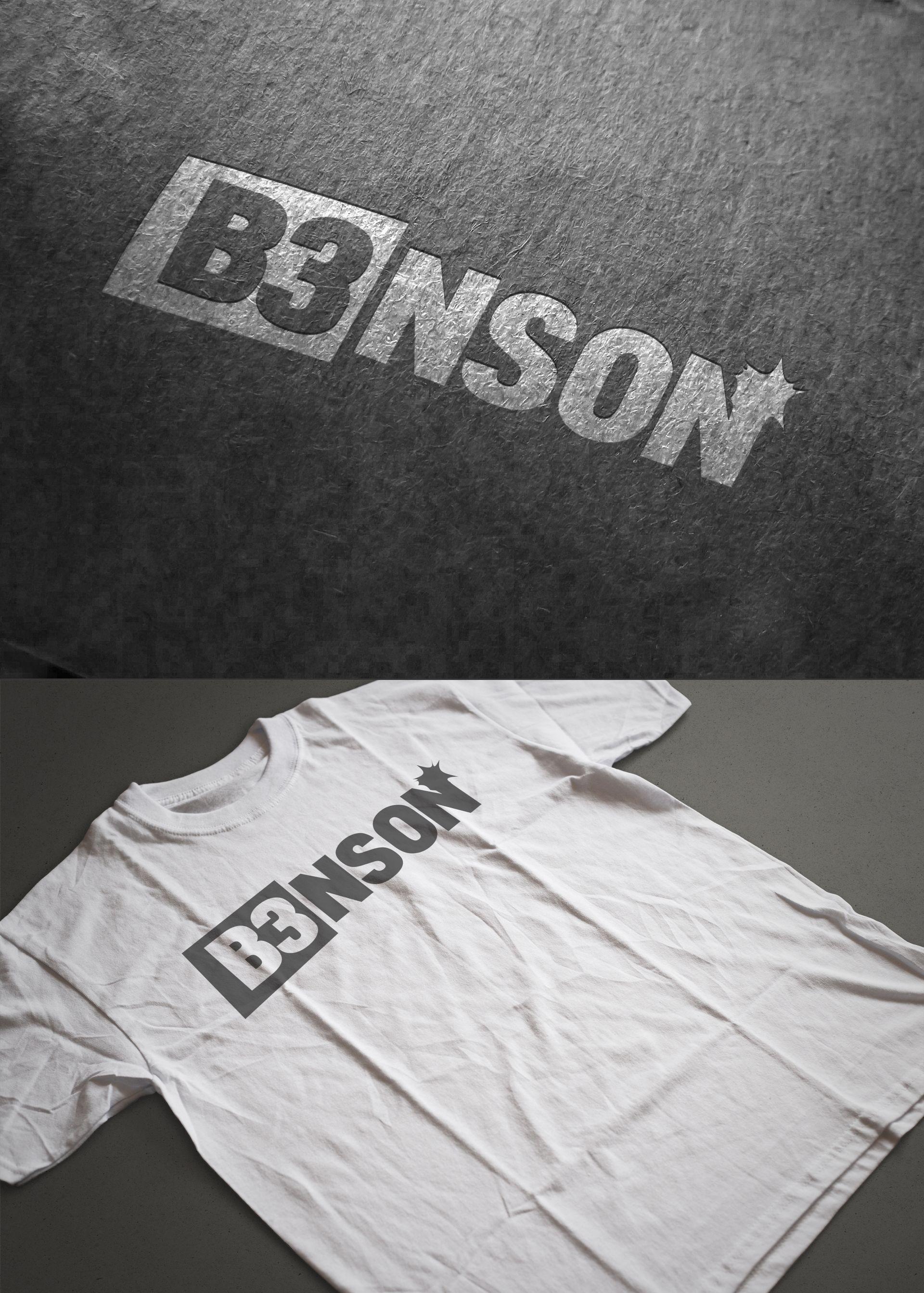 - B3NSON - Logo-Design for a musician. http://bork81.com #brand #logo #vector #dj #bork81 #sebastianbork #illustrator