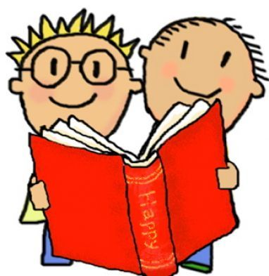 Image result for reading buddies clipart