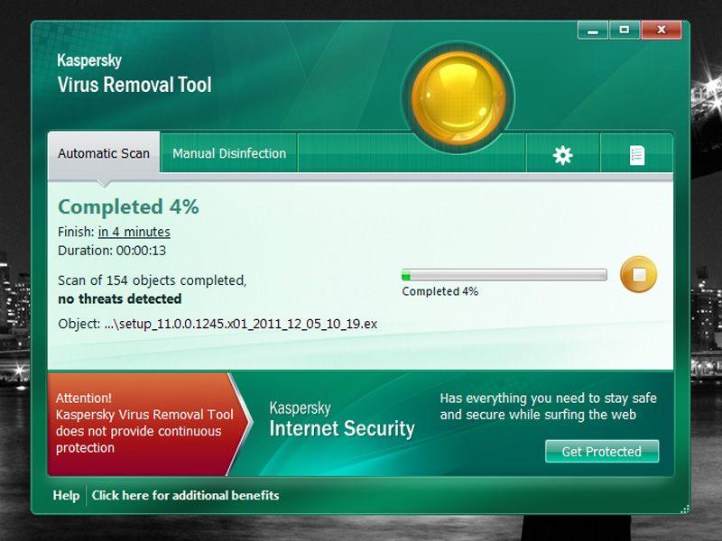 Kaspersky virus removal tool 7   biyninong   Windows xp