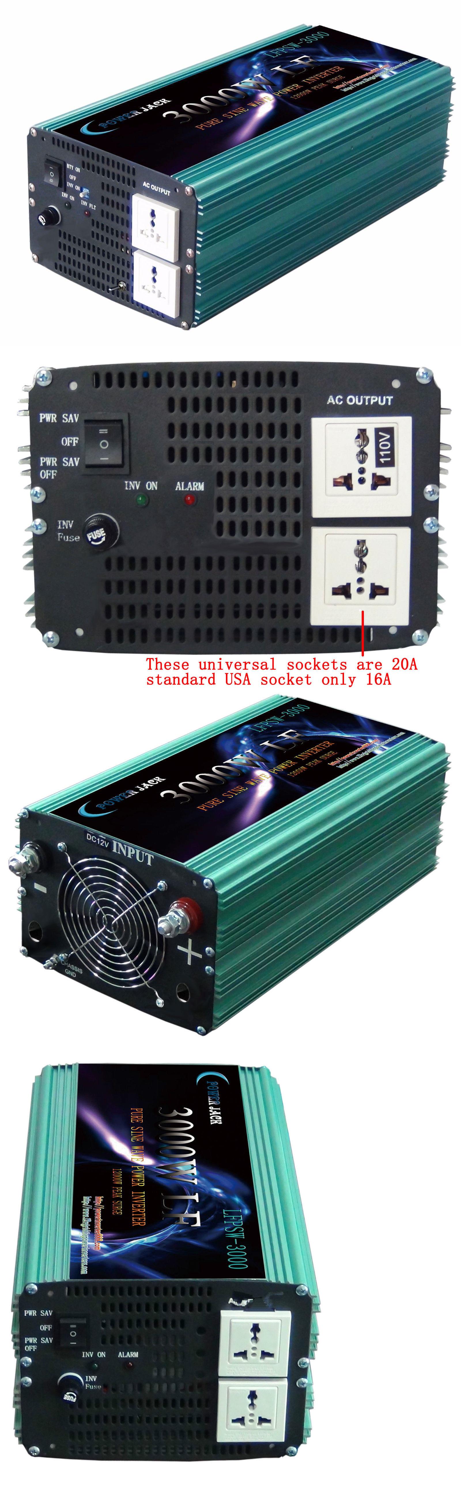 Power Inverters 5000w Lf Psw Solar Inverter Dc 24v Ac 500w Mosfet From 12v To 110v 220v 3000w Pure Sine Wave Ac110v 60hz Tool