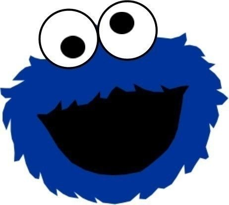 graphic about Printable Cookie Monster Face referred to as Cookie Monster Confront Reduce Out zim Cookie monster get together