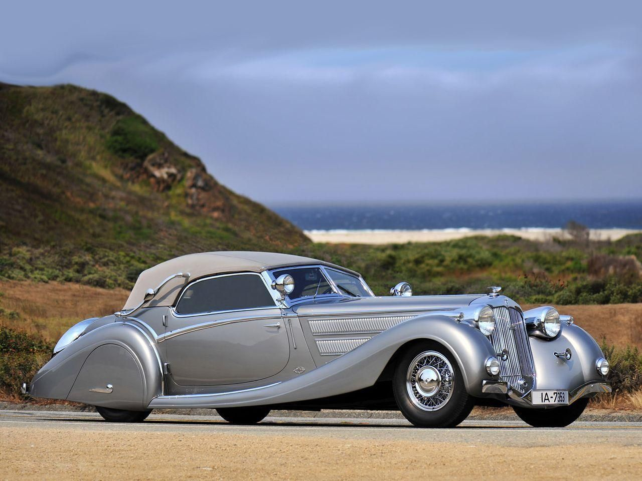 1935 Horch 853 Sport Cabriolet Horchs Vehicles Antique Cars Cars