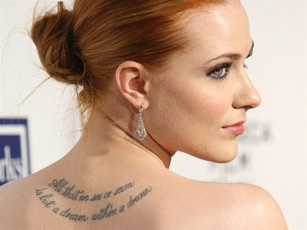 Eva Longoria Almost Free Of Tony Parker Tattoos Celebrity Tattoos Literary Tattoos Tattoos