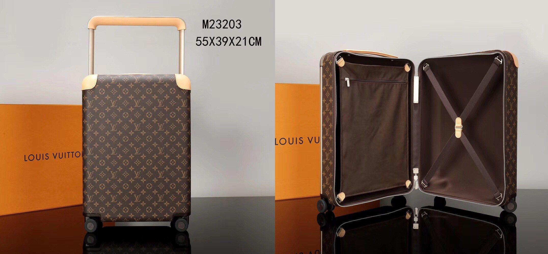b342d2060d5c LOUIS VUITTON HORIZON 55 rolling luggage M23203
