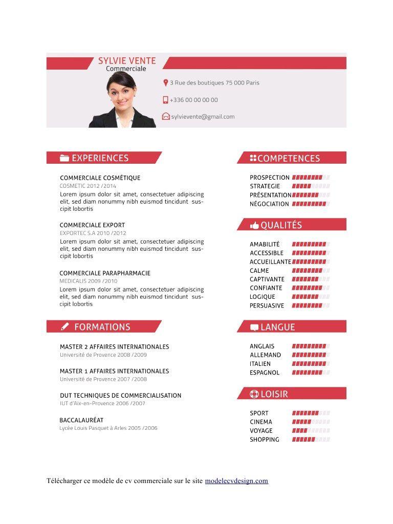 modele cv 2014 pdf