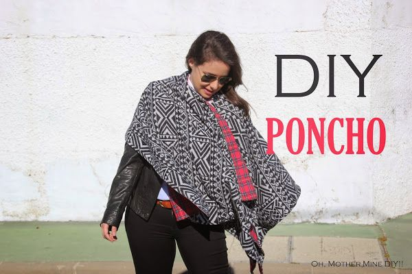 DIY Poncho Reversible :D   Aprender manualidades es facilisimo.com