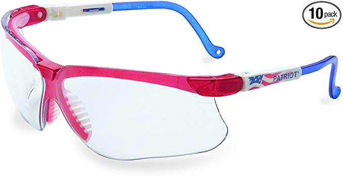 Uvex by Honeywell Genesis Safety Glasses, Patriot Frame