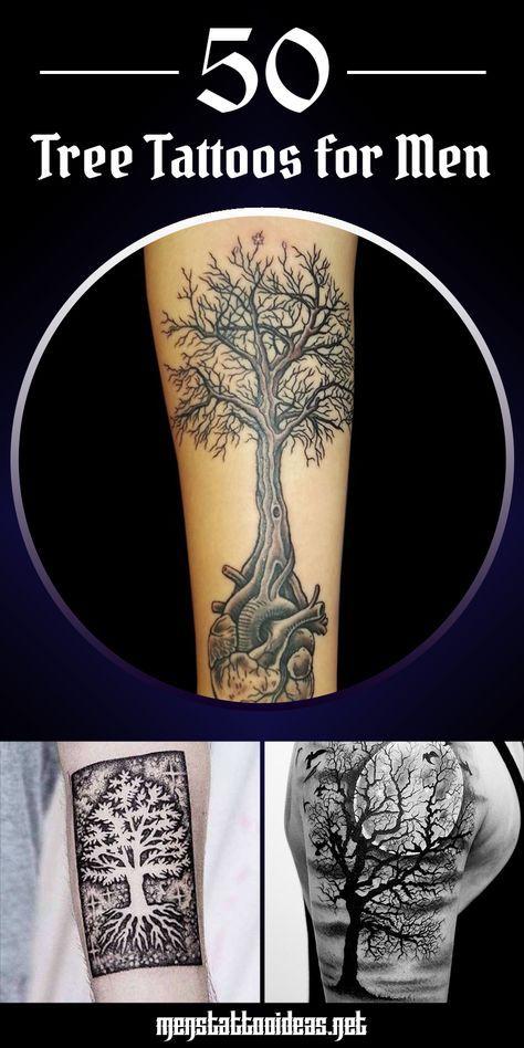 Tree Tattoos For Men Tattoos Tatuaże Drzewa Tatuaże I