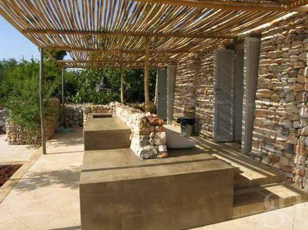 Aménager une cuisine d\'été dans le jardin | Relax jardin ...