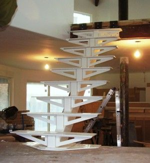 Beautiful Mono Stringer Staircase   Google Search