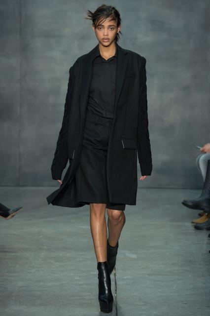 Vera Wang, Look #7 -loving this jacket!