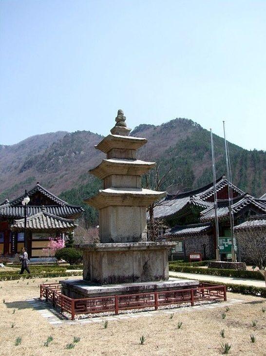 Unmunsa Templo en Cheongdo, Gyeongsangbuk-do, Corea del Sur.