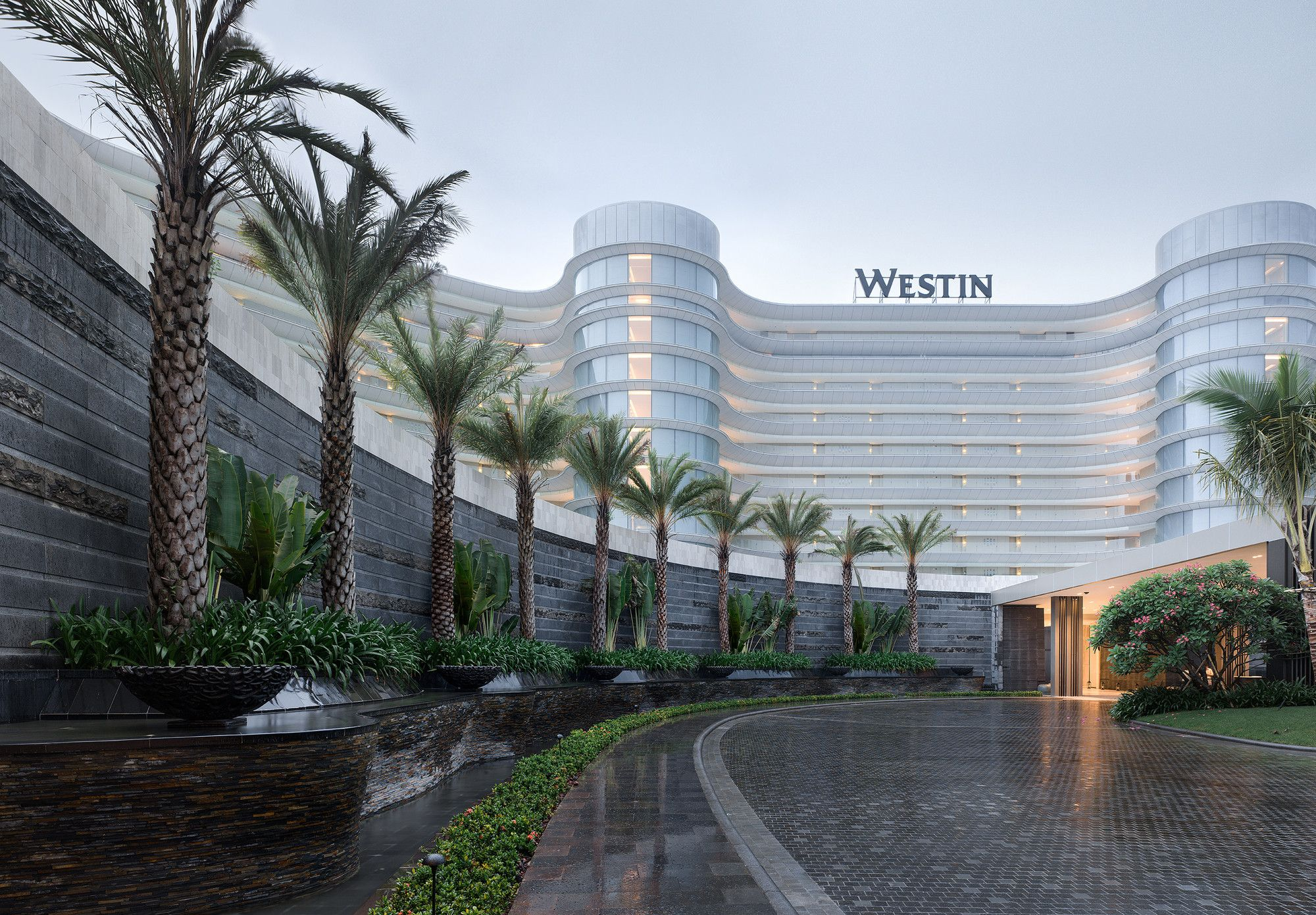Gallery - Hainan Blue Bay Westin Resort Hotel / gadZhejiang Greenton  Architectural Design -