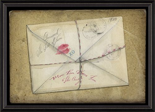 Love Letter Framed Good Idea To Preserve Old Love Notes And Be