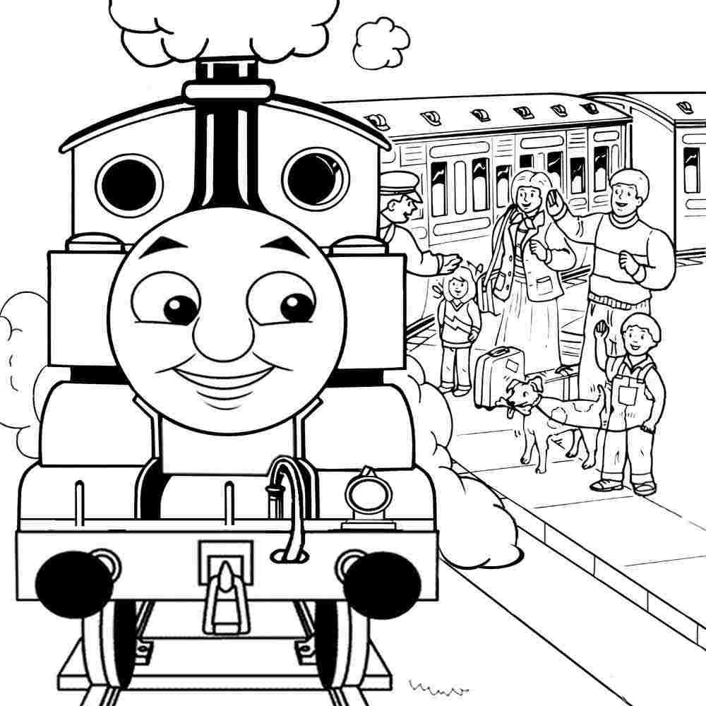 45113] Printable Free Printable Cartoon Thomas And Friends Thomas ...