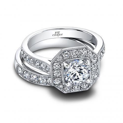 Jeff Cooper Helena And Harlow Diamond Wedding Set