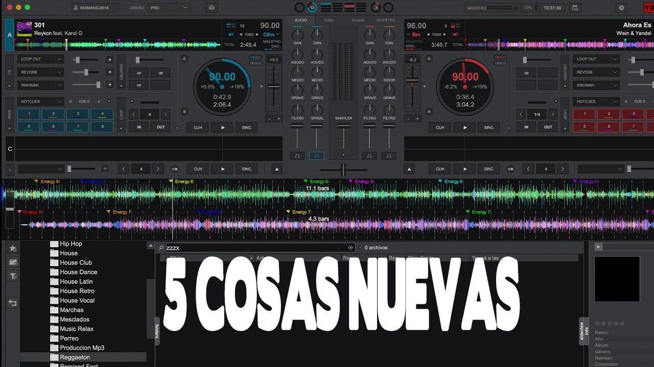 Virtual Dj 2020 5 Cosas Nuevas Mas Mi Grupo De Whatsapp Mixman
