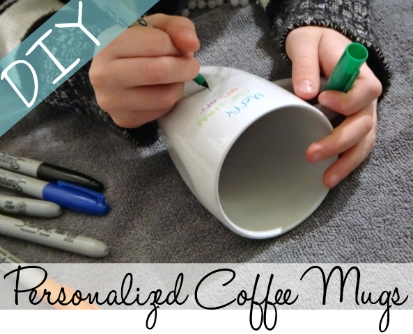 DIY Personalized Coffee Mugs Gift ideas Pinterest Coffee