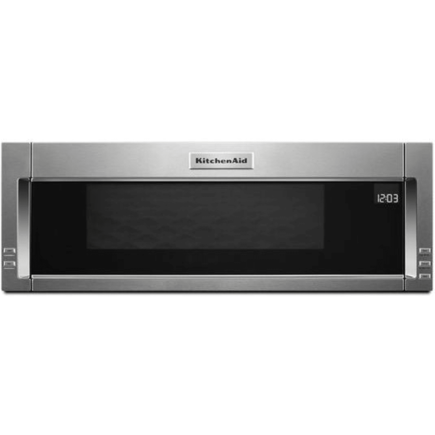 Kmls311hss By Kitchenaid Over The Range Microwaves Goedekers Com Over The Range Microwaves Microwave Hood Range Microwave