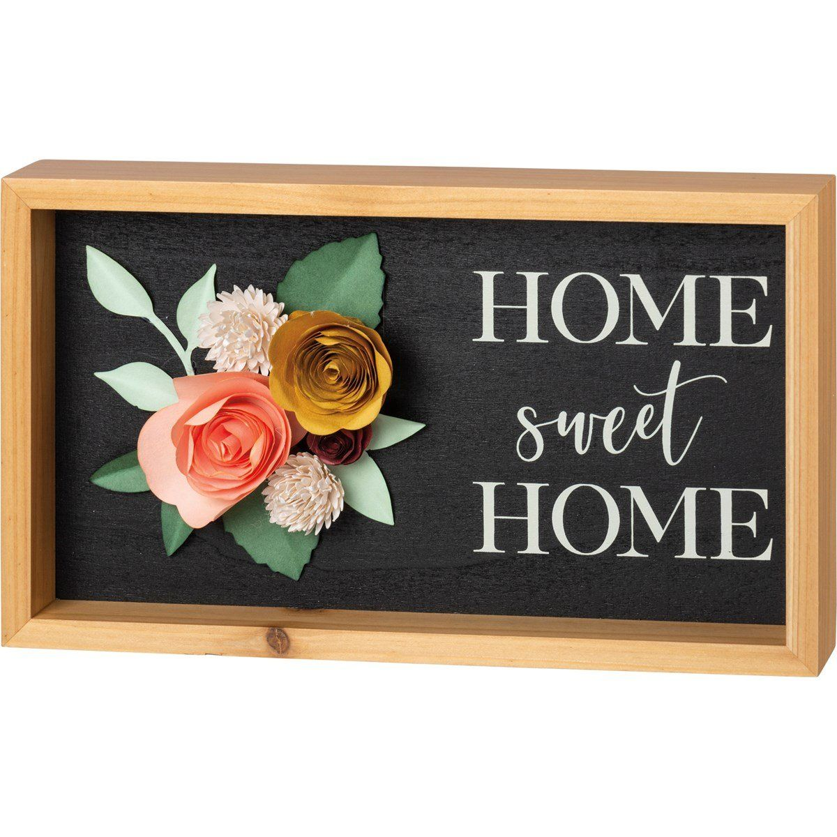 Home Sweet Home Inset Box Sign