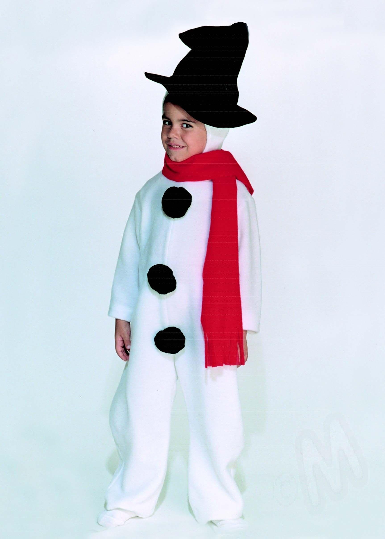 Disfraz de mu eco de nieve ideal para navidad disfraces - Disfraces infantiles navidad ...
