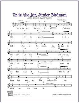 up in the air junior birdman guitar lead sheets free sheet music free sheet music guitar. Black Bedroom Furniture Sets. Home Design Ideas