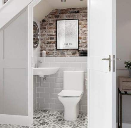 Trendy Bathroom Ideas Small Ensuite Space Saving Ideas Bathroom Under Stairs Downstairs Toilet Small Toilet Room