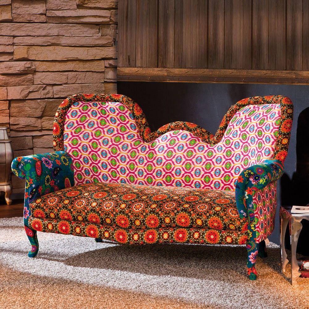 Ausgefallene Sofas ausgefallenes retro sofa in bunt auf pharao24 de entdecken extrem