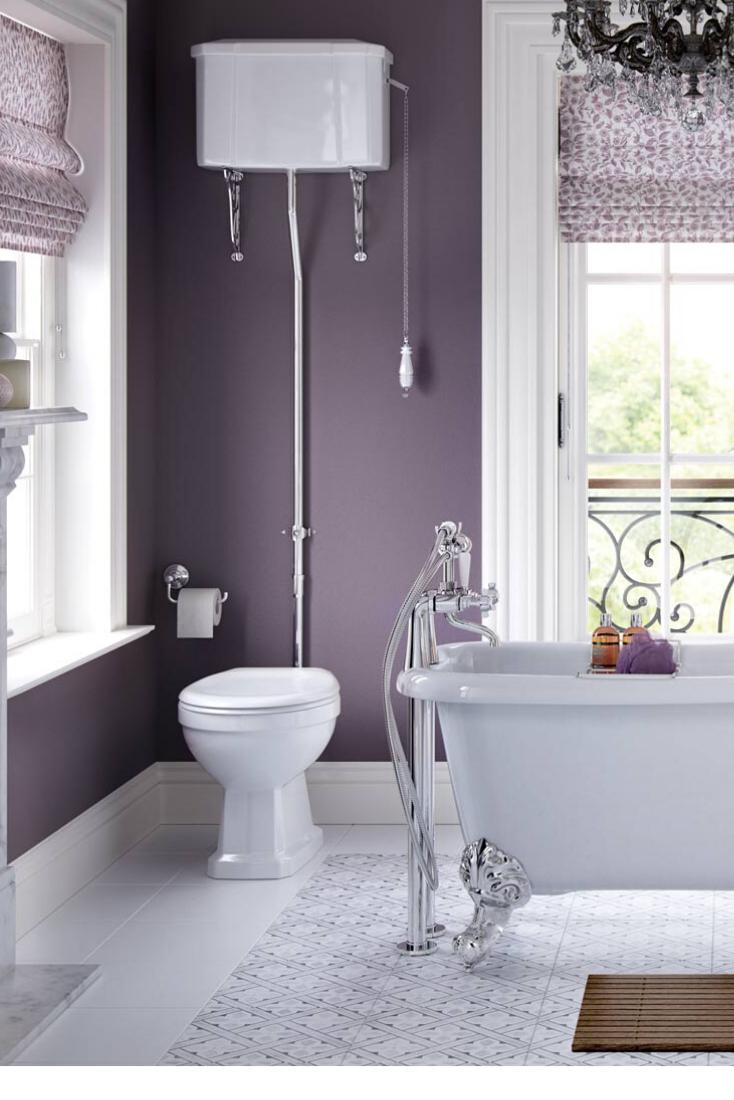 20 Purple Bathroom Decor Pictures Ideas Tips Purple Bathroom Decor Purple Bathrooms Unique Bathroom Design