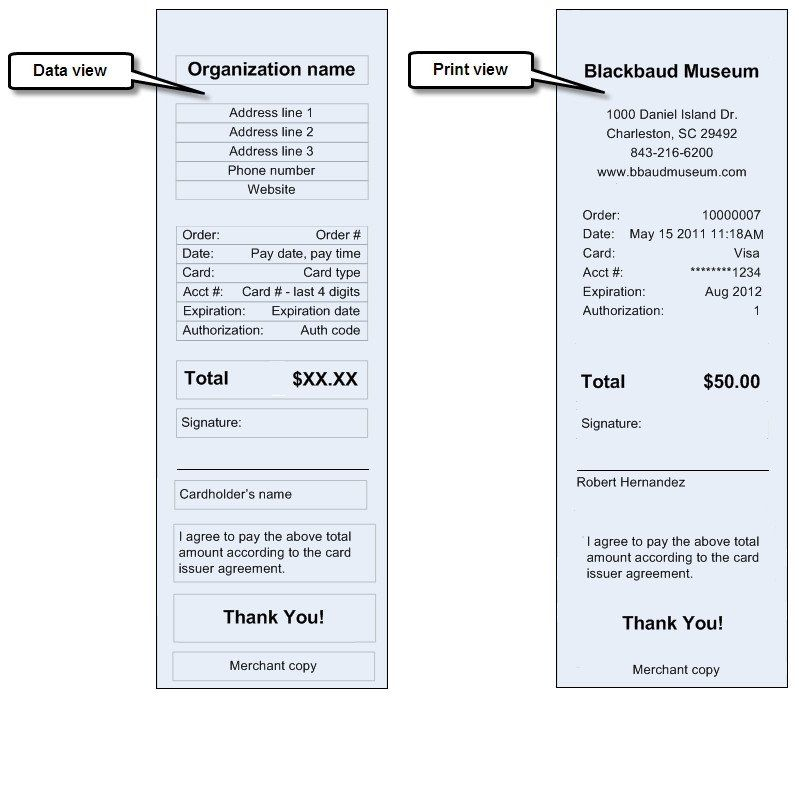 Credit Card Receipt Template Credit Card Receipt Svg File Receipt Template Job Letter Templates