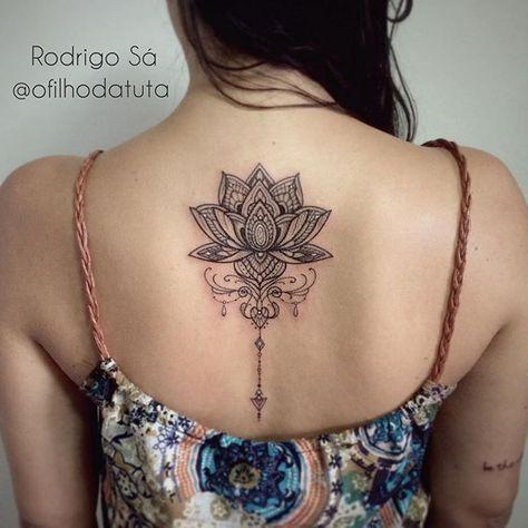 Flor De Lotus Que Tive A Honra De Fazer Para Bruna Gratidao Tatuagem Fazer Uma Tatuagem E Tatuagem Pequena