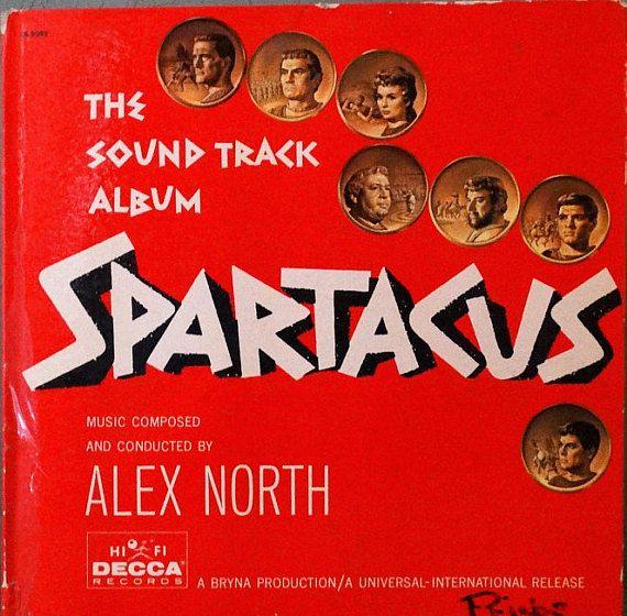 Spartacus The Sound Track Album Alex North 1960 Lp Album Album Lp Albums Soundtrack