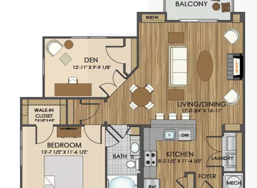 View Our Spacious Floor Plans At Hidden Creek Apartments In Gaithersburg Md Apartment Floor Plans Tiny House Floor Plans House Plans