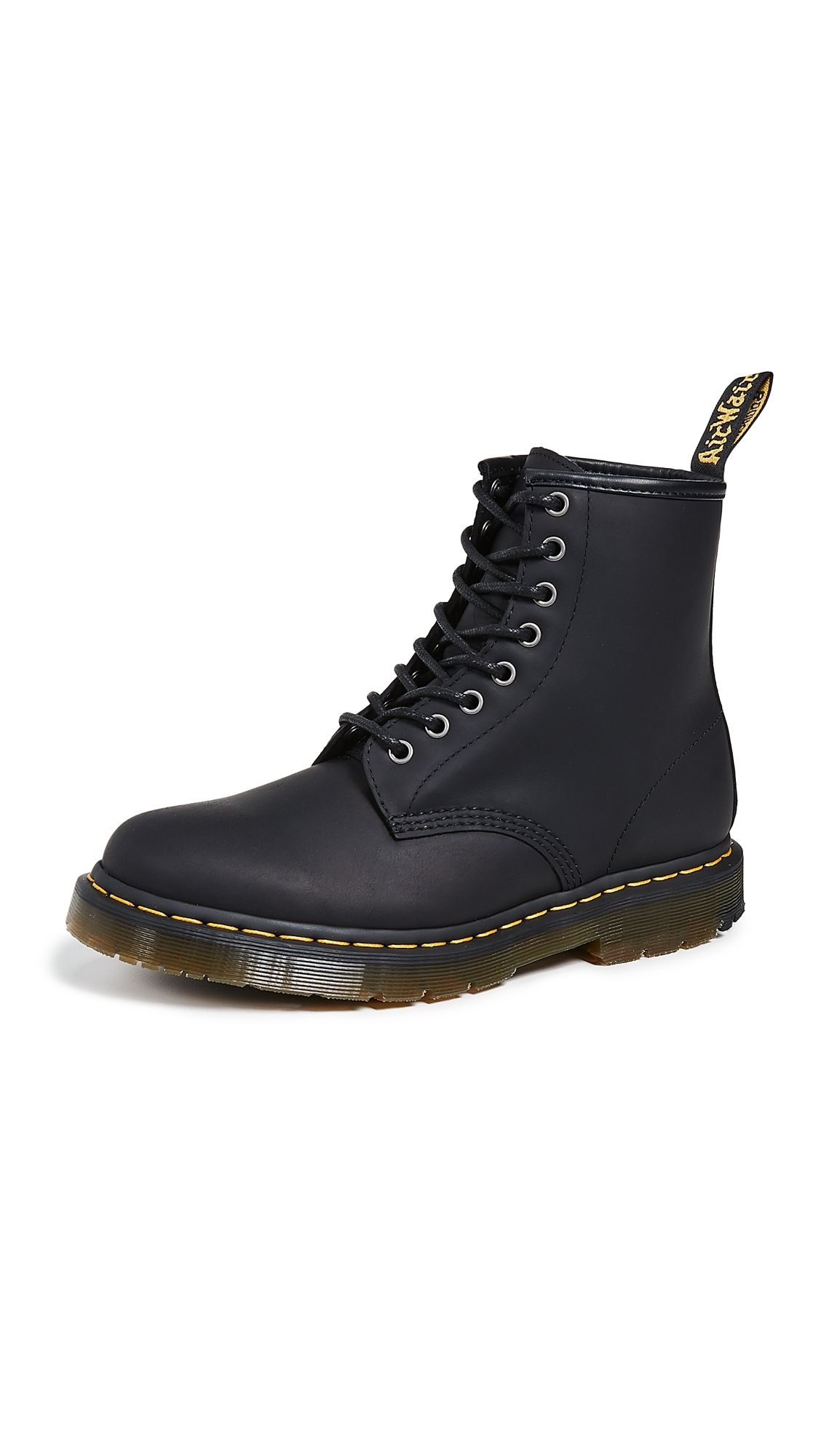 Dr martens combs tech boots in black