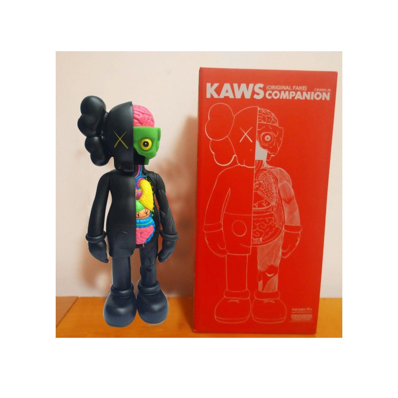 "KAWS BLACK BFF 20/"" PLUSH COMPANION Doll"