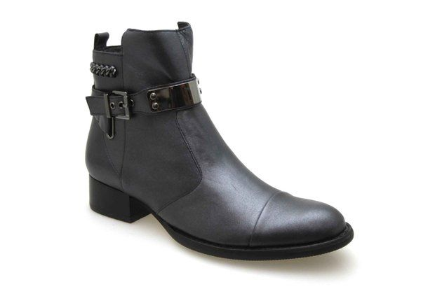 Boots MAM'ZELLE JIZO Antracite - Chaussures femme