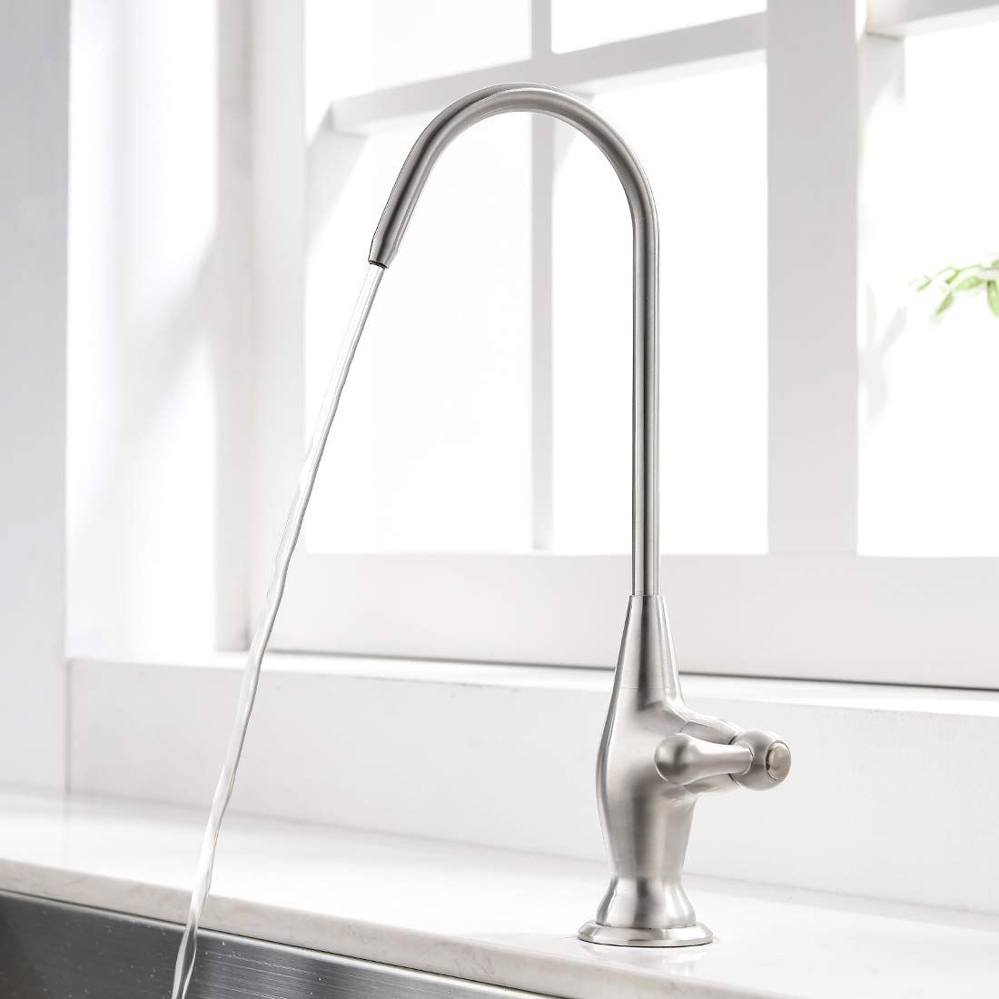Modern Kitchen Water Filter Faucet Lead Free Water Filtration Faucet Co In 2020 Kitchen Faucet With Sprayer Kitchen Sink Faucets Stainless Steel Kitchen Sink Faucets