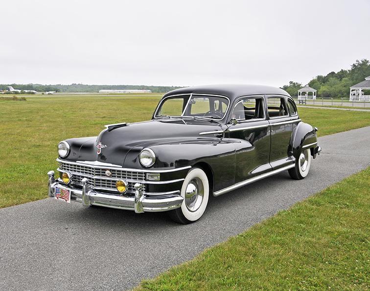 1948 Chrysler Imperial Wiring Schematic Diagram