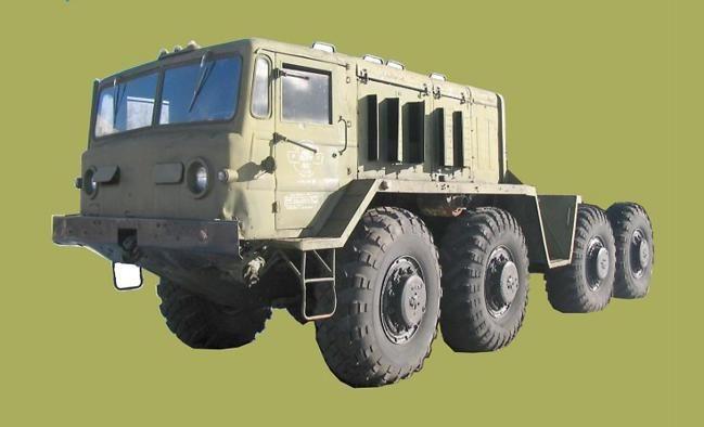 MAZ-537 Truck Free Vehicle Paper Model Download