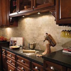 kitchen backsplash cherry cabinets. What Backsplash Goes With Peacock Green Granite - Google Search. Cherry Kitchen CabinetsKitchen Cabinets I
